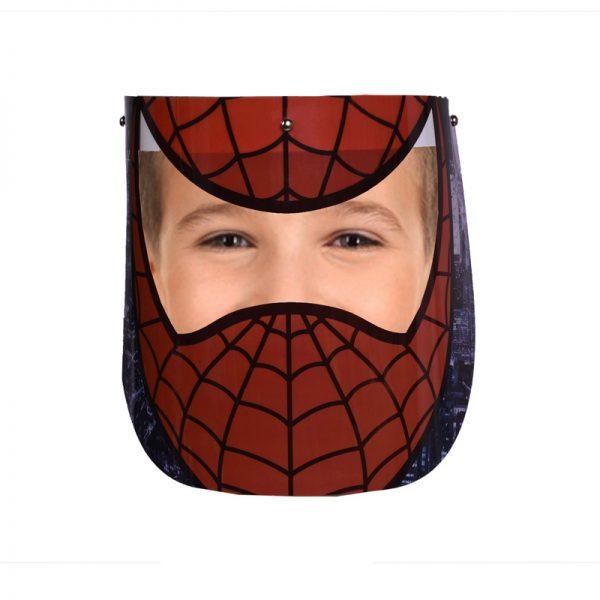 شیلد محافظ صورت کودک و نوجوان طرح مرد عنکبوتی