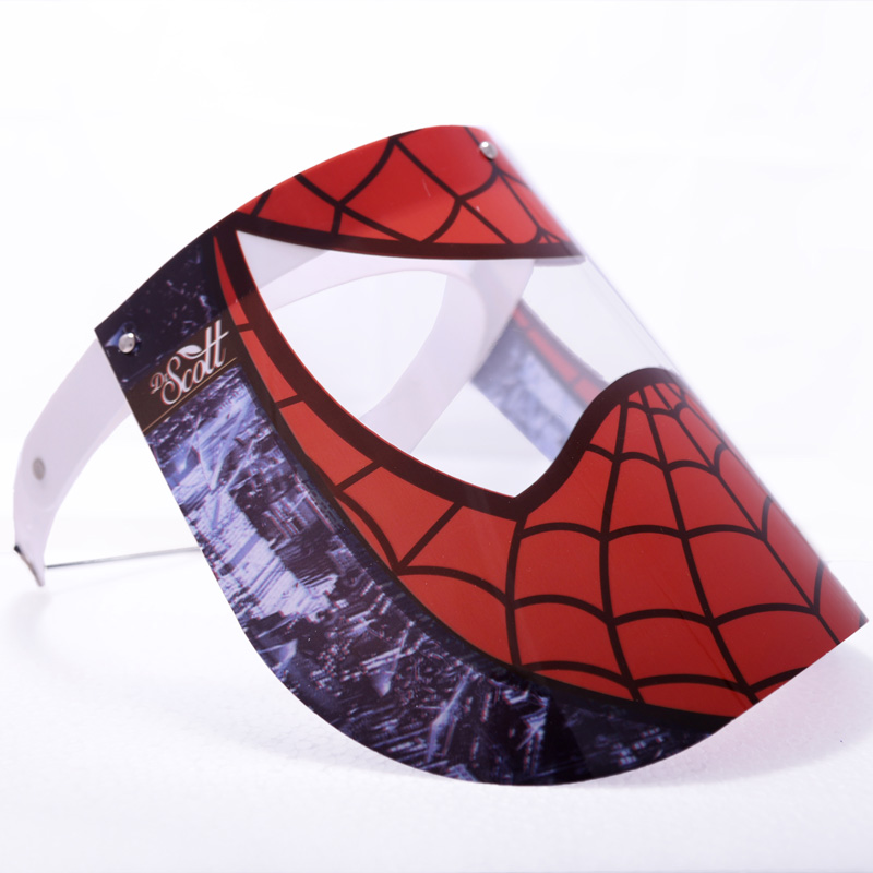 شیلد محافظ صورت کودک طرح مرد عنکبوتی